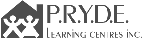 P.R.Y.D.E. Learning Centres Logo