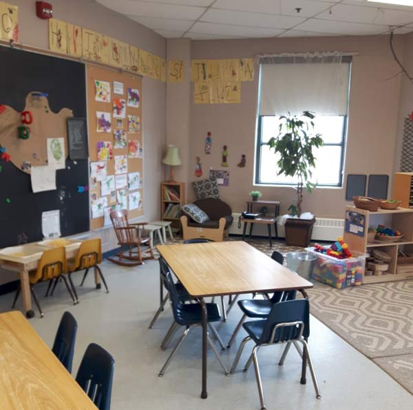 St. Bernard preschool room